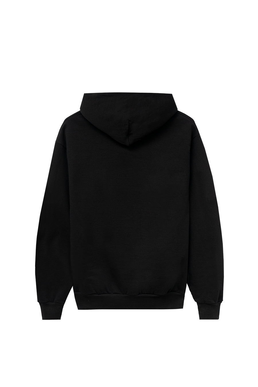 Real Bad Man - Black Backwards Logo Hoodie | 1032 SPACE