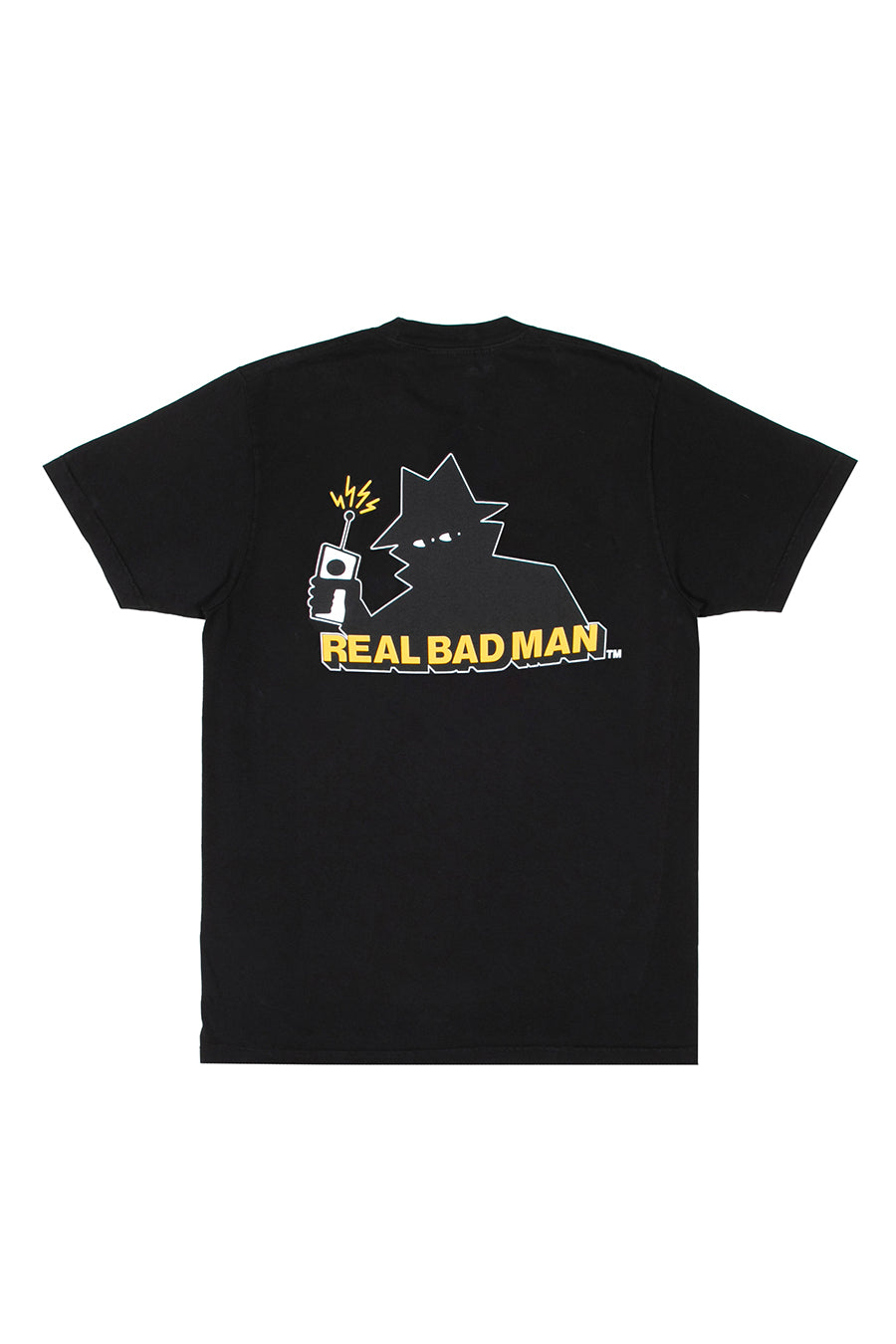 Real Bad Man - Black Logo T-Shirt