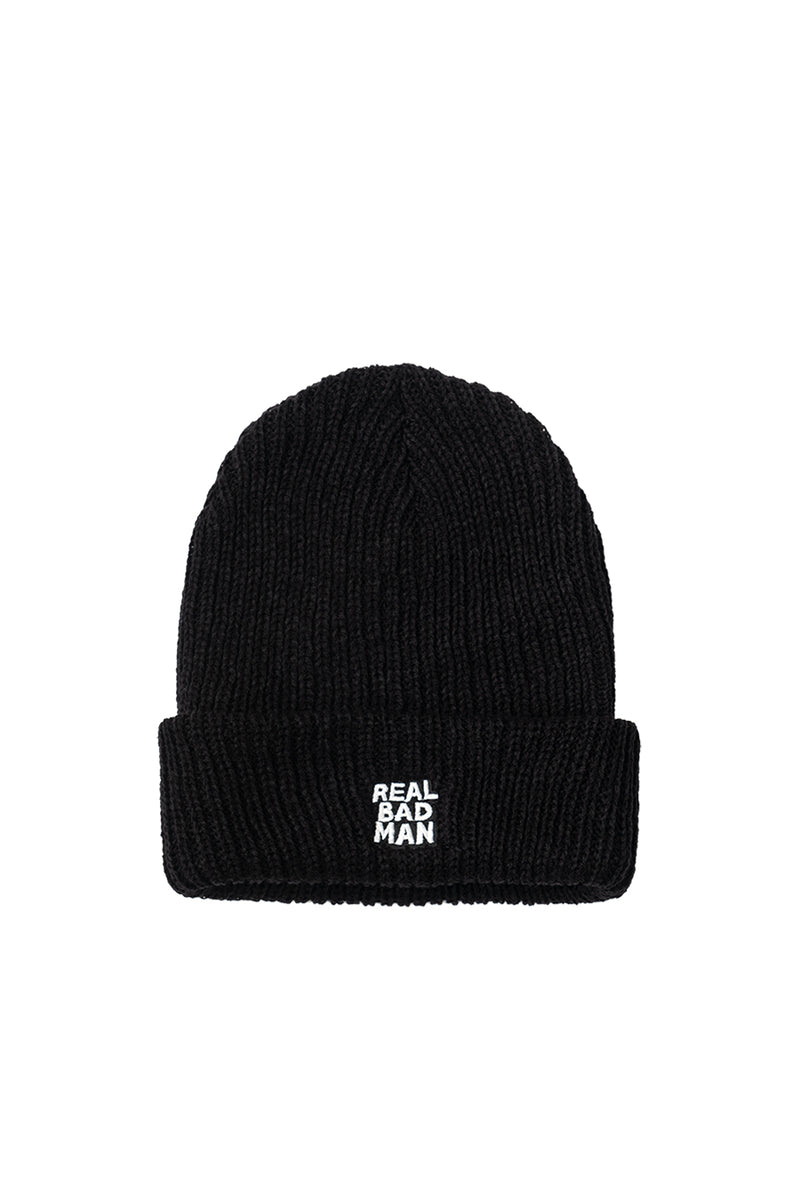 Real Bad Man - Black RBM Beanie | 1032 SPACE