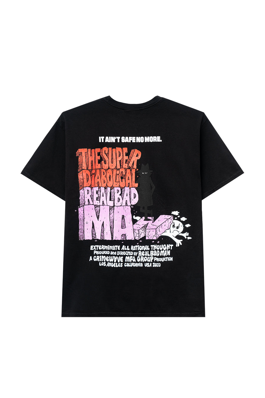 Real Bad Man - Black Super Diabolical T-Shirt | 1032 SPACE