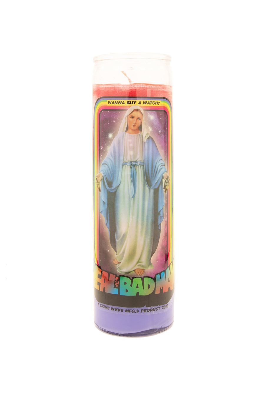 Real Bad Man - Mary Prayer Candle