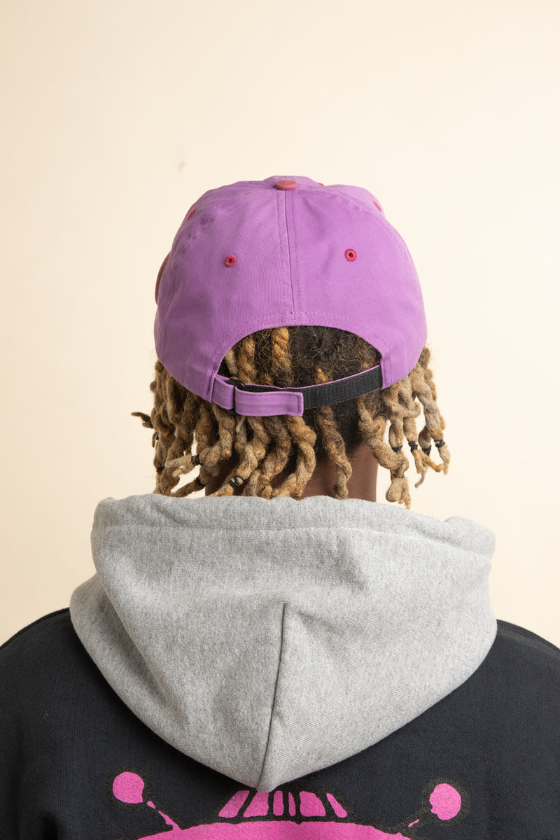 Real Bad Man - Purpink RBM Washed Out 6 Panel