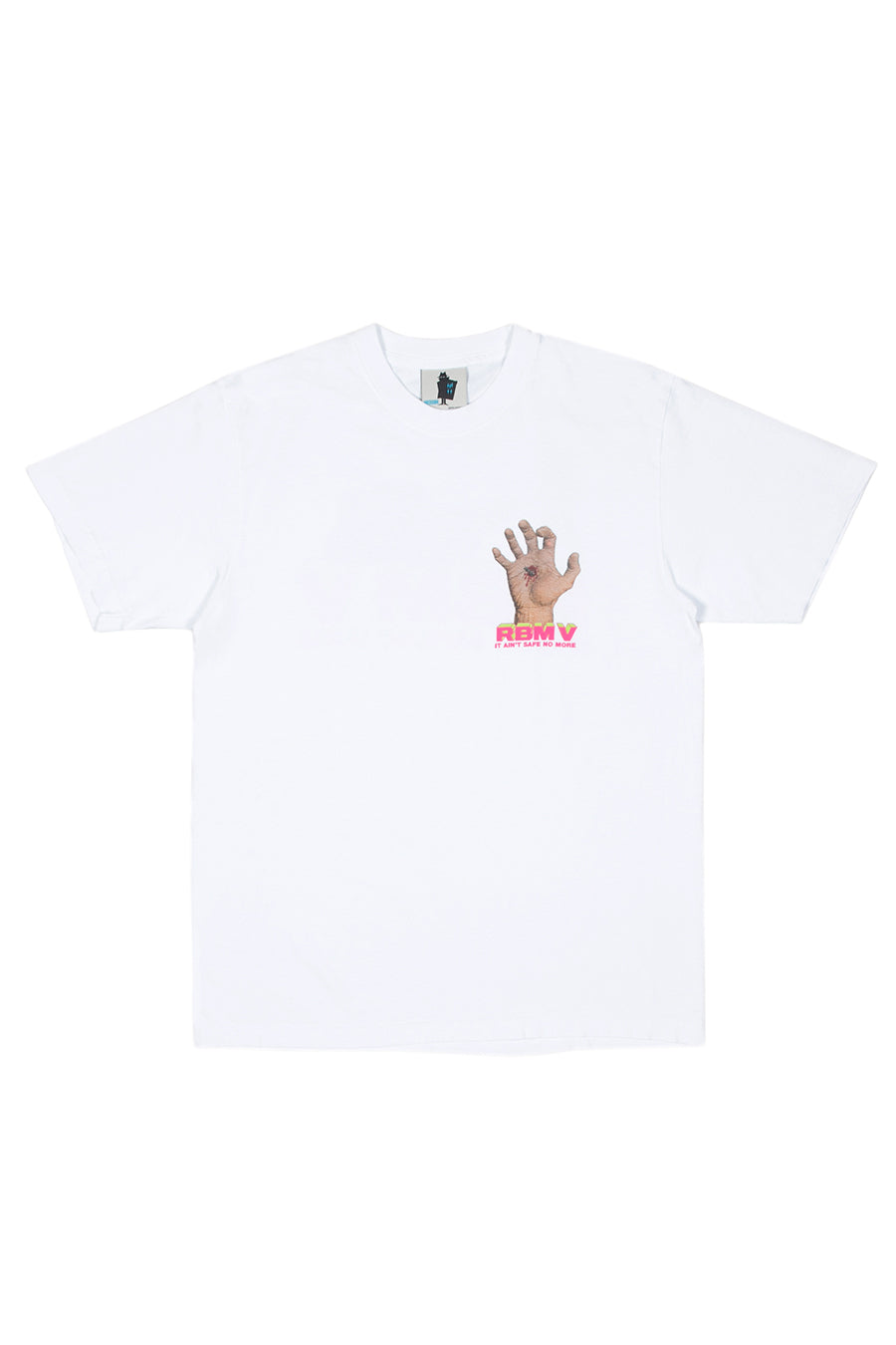 Real Bad Man - White RBM V T-Shirt