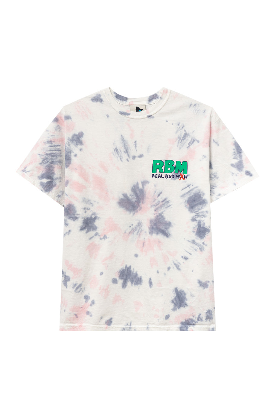 "Real Bad Man - White Tie Dye ""Who Me?"" T-Shirt 