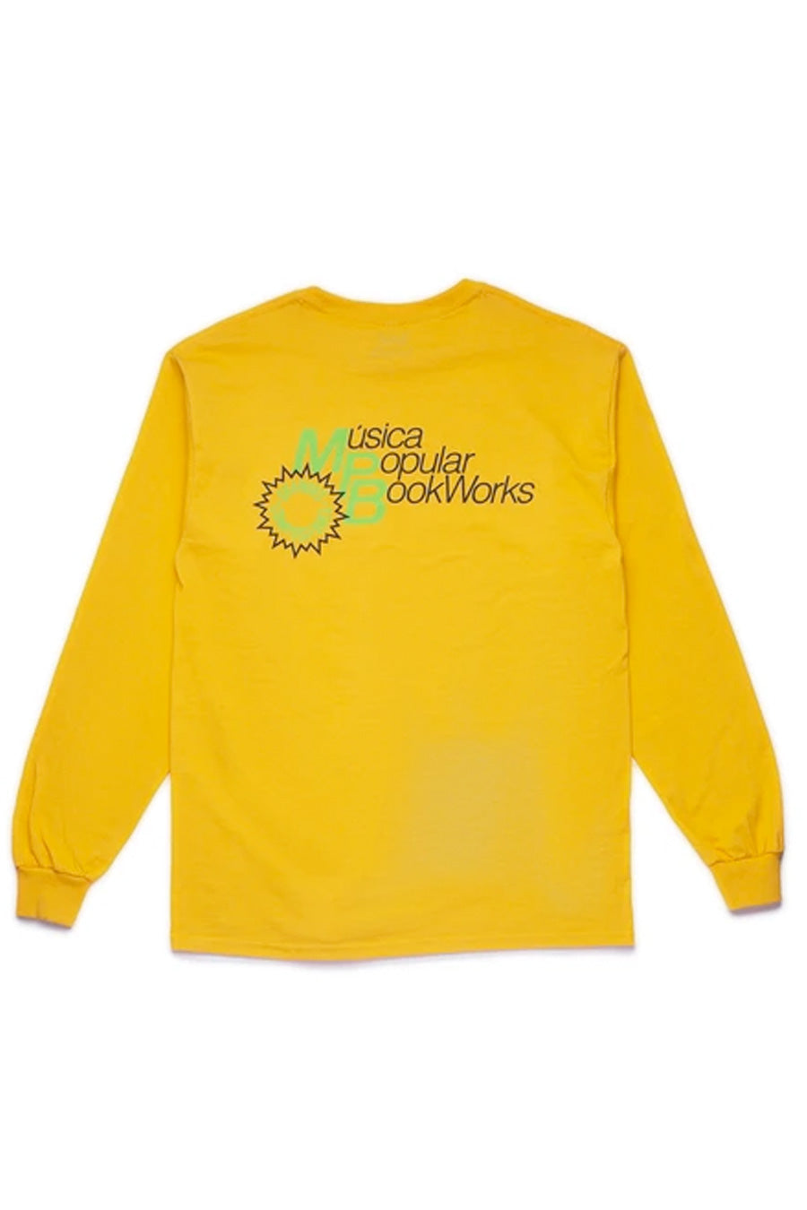 Book Works - Gold MPB Long Sleeve T-Shirt | 1032 SPACE
