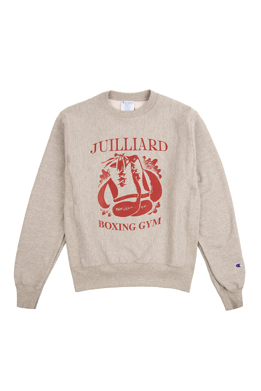 Book Works - Grey Juiliard Boxing Crewneck | 1032 SPACE