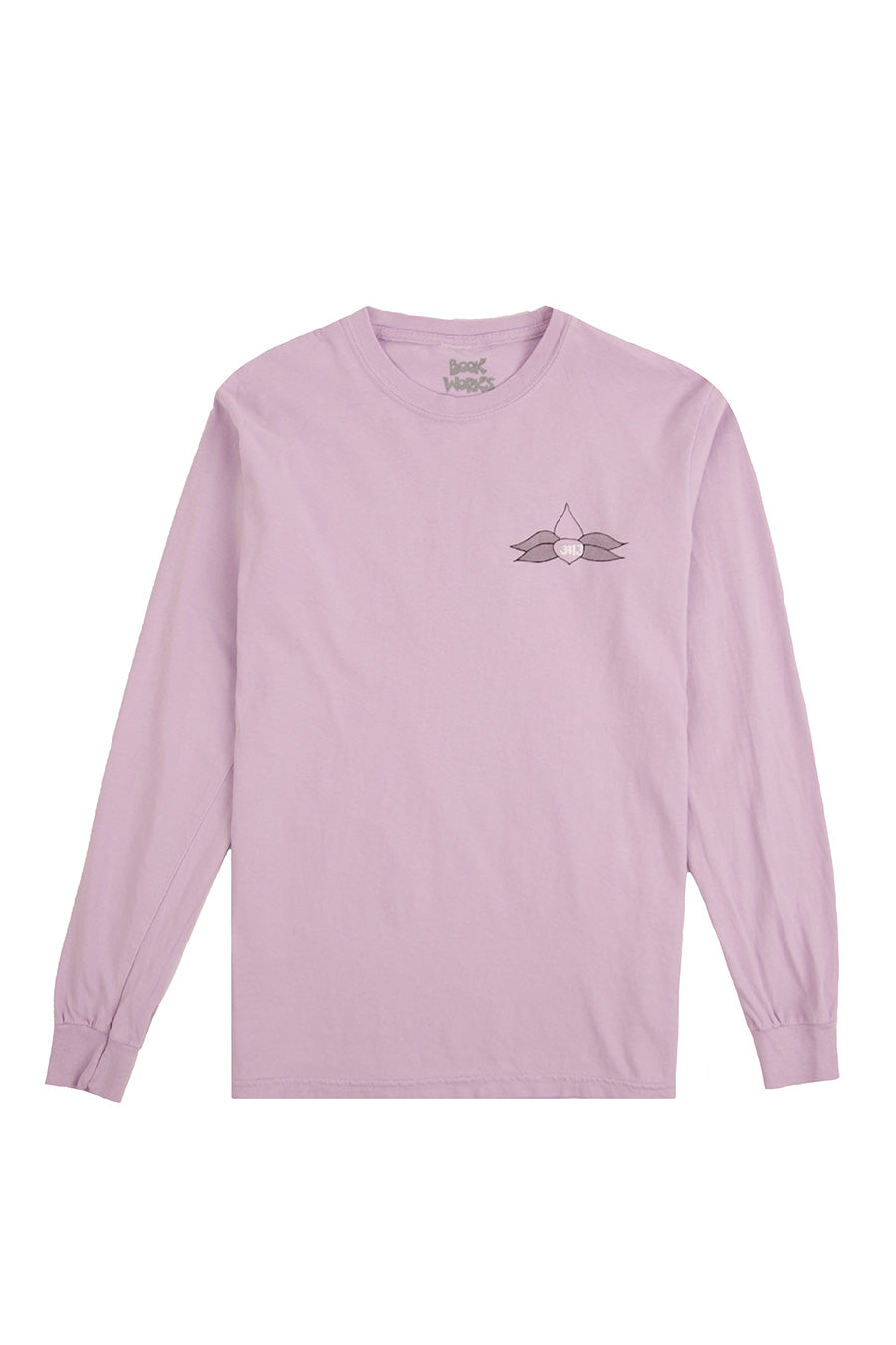 Book Works - Purple Lotus Long Sleeve Tee | 1032 SPACE