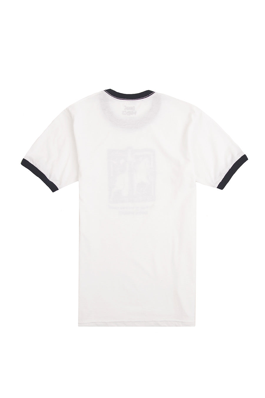 Book Works - White Lady Ringer Tee | 1032 SPACE