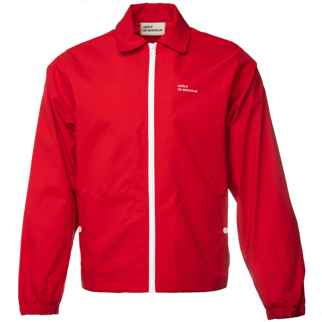 Drole de Monsieur - Red Slogan Coaches Jacket