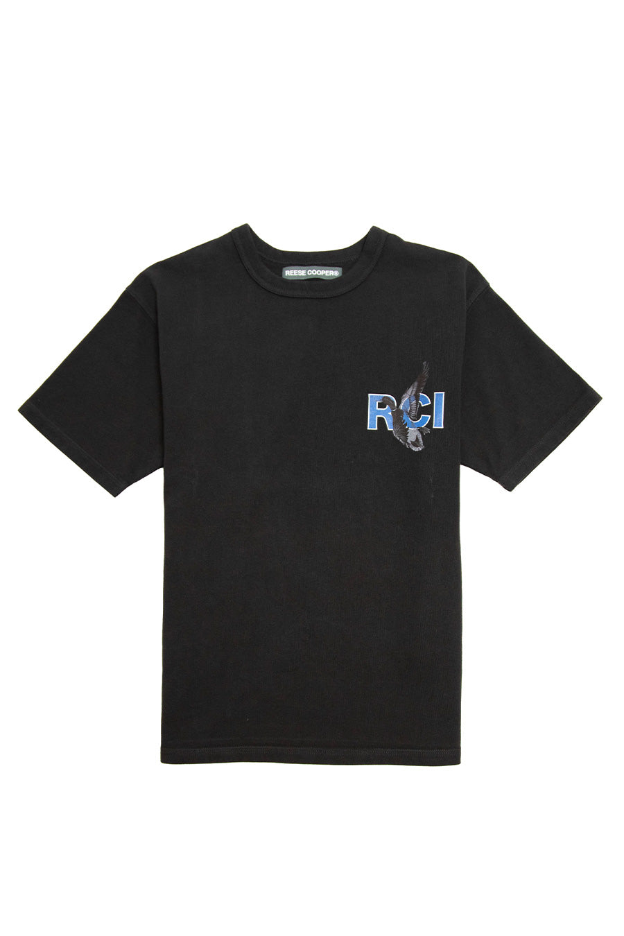 Reese Cooper - Black Duck Print T-Shirt | 1032 SPACE