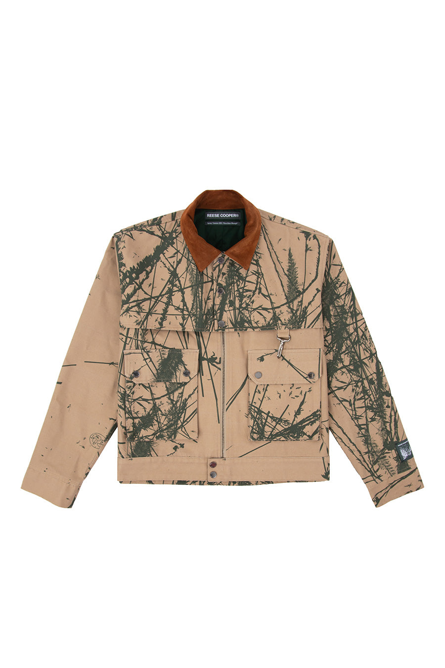 Reese Cooper - Canyon Camo Brushed Cotton Work Jacket | 1032 SPACE