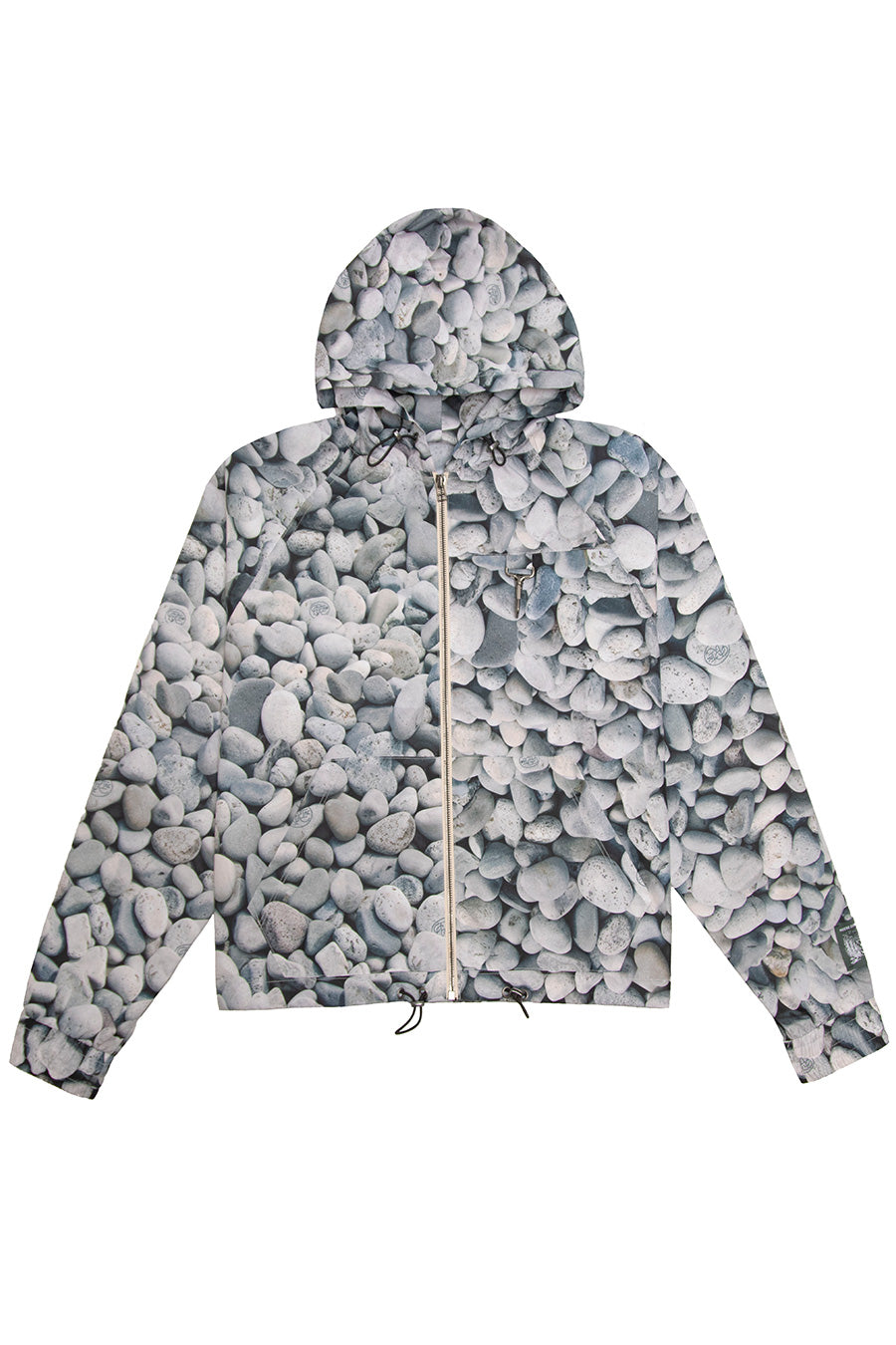 Reese Cooper - River Rock Camo Ripstop Zipped Hooded Jacket | 1032 SPACE