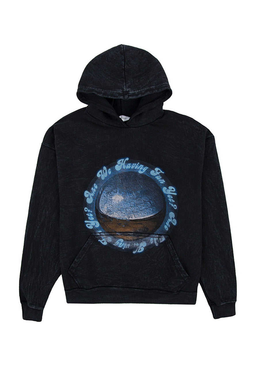 Rhude - Black Chrome Memory Hoodie | 1032 SPACE