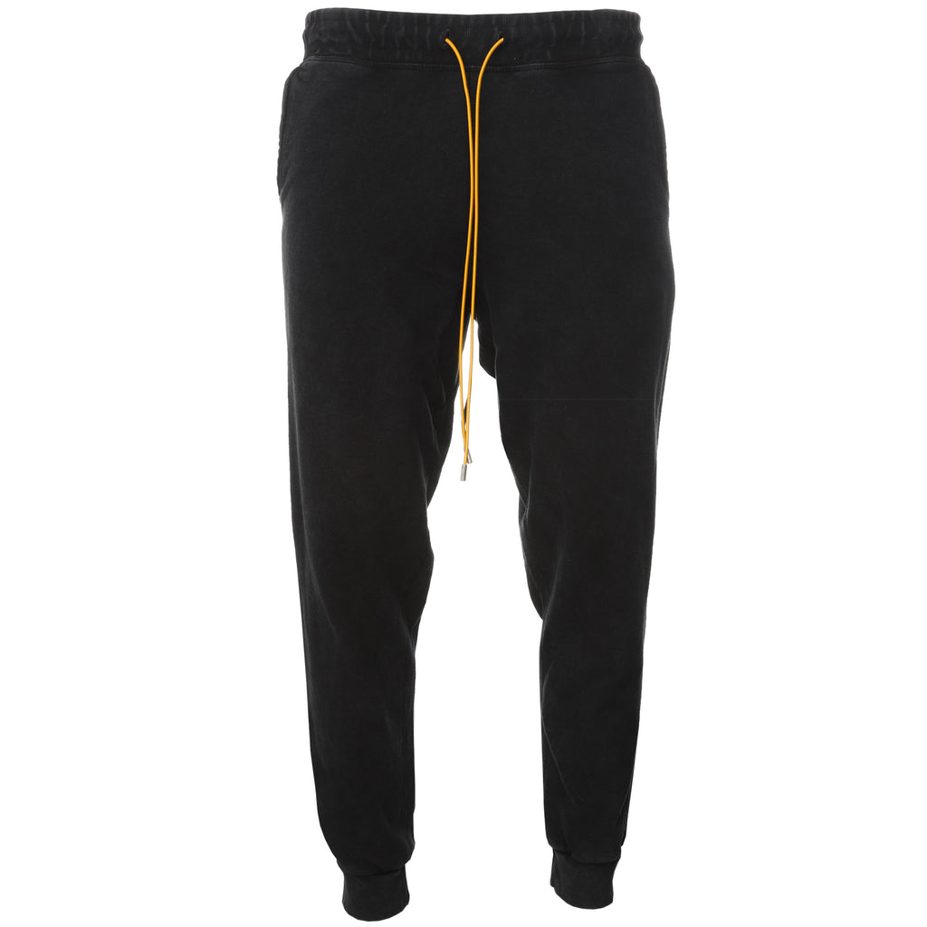 Rhude- Black Jogger Sweatpants