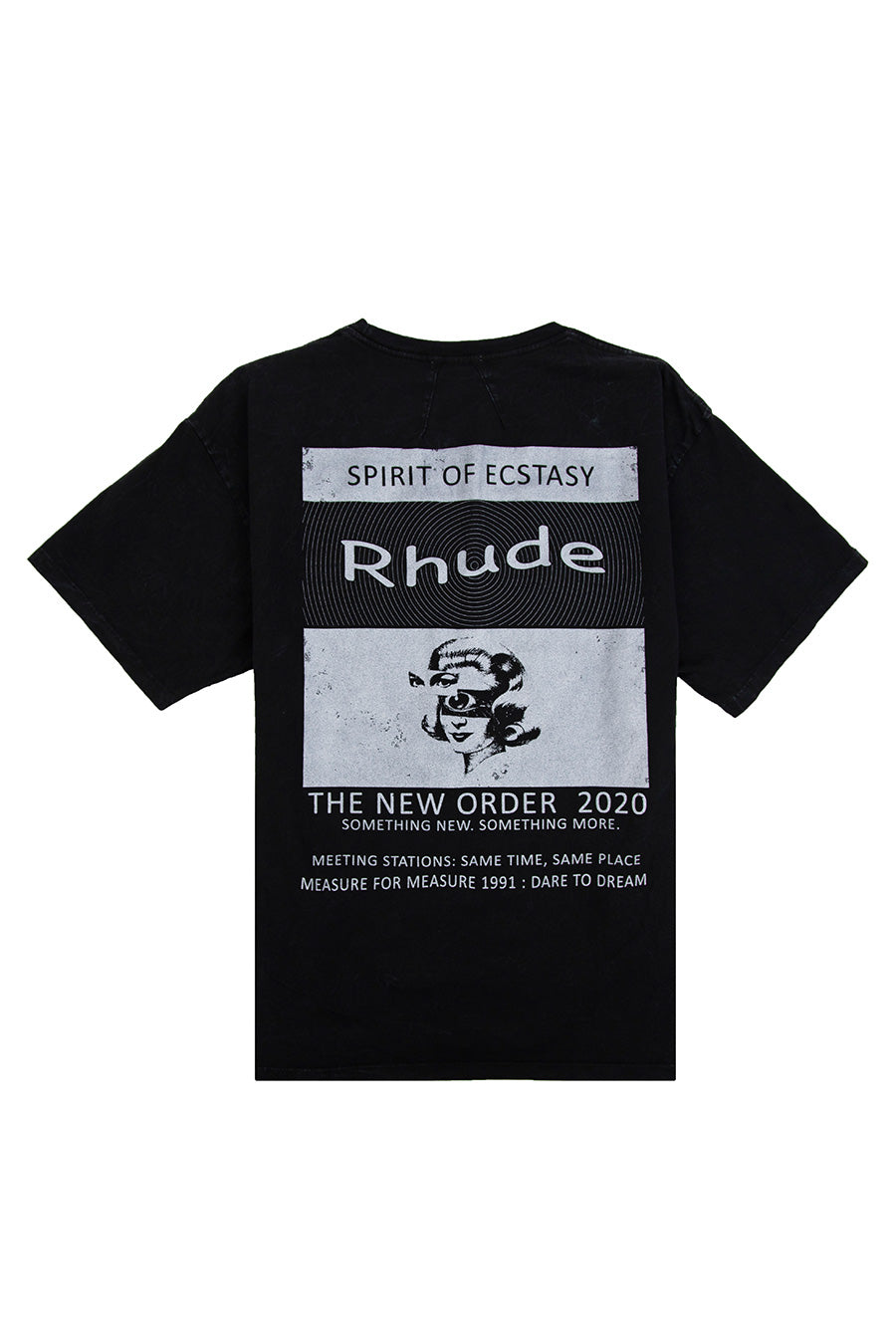 Rhude - Black Rhave T-Shirt | 1032 SPACE