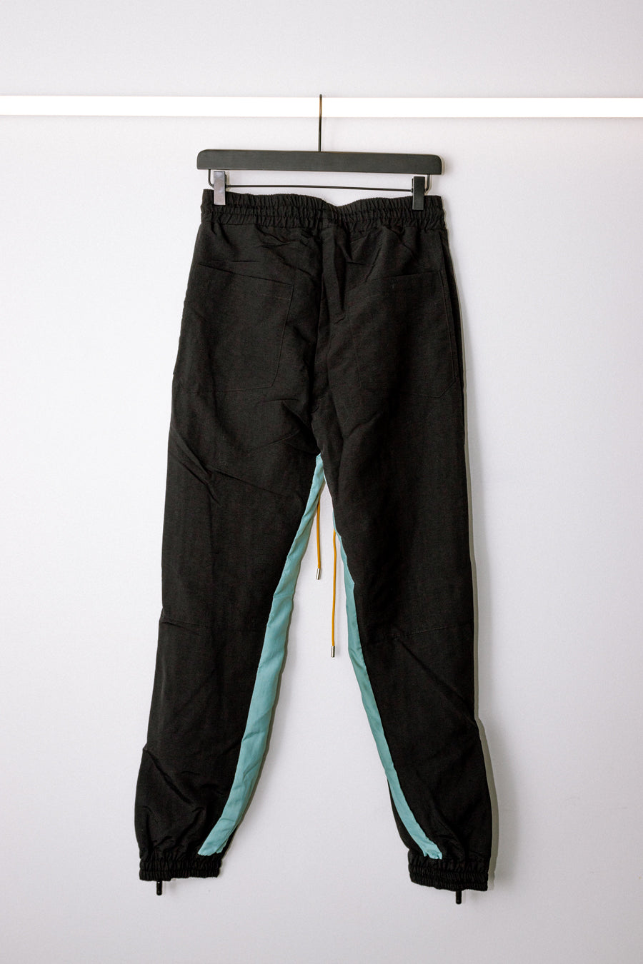 Rhude - Black & Teal Flight Pants