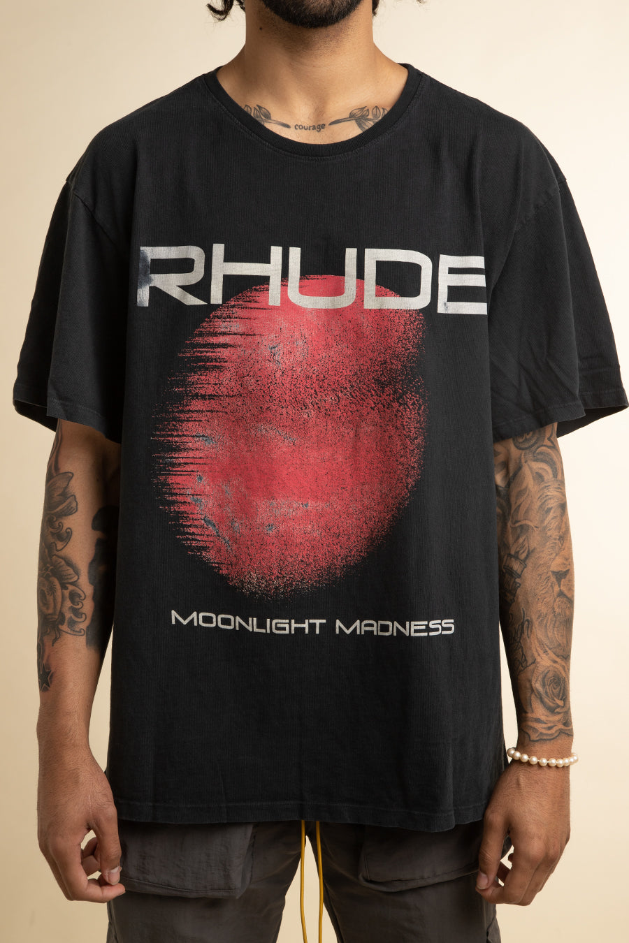 Rhude - Black Blood Moon T-Shirt