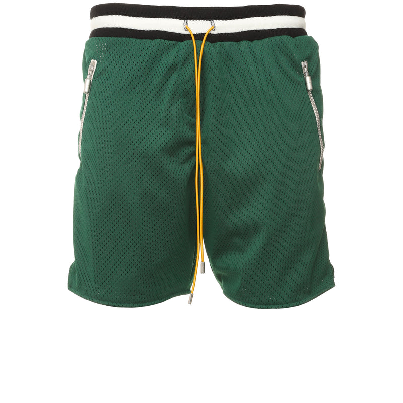 Rhude -  Green Basketball Shorts