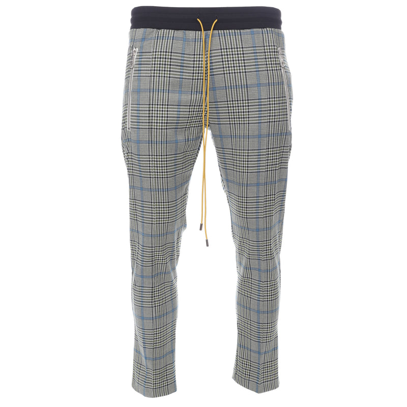Rhude - Green and Blue Plaid Pinstripe Pants