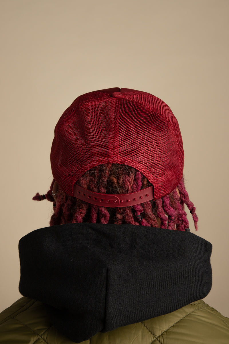 Rhude - Red Rhonda Trucker Hat