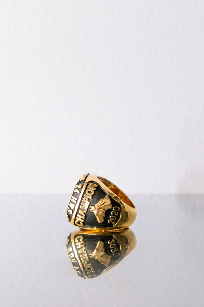 Rhude - Sterling Silver Championship Ring