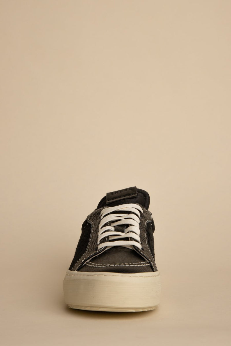 Rhude - Black V1 Low Top Sneaker