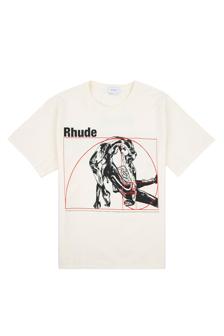 Rhude - White Golden Rule T-Shirt | 1032 SPACE