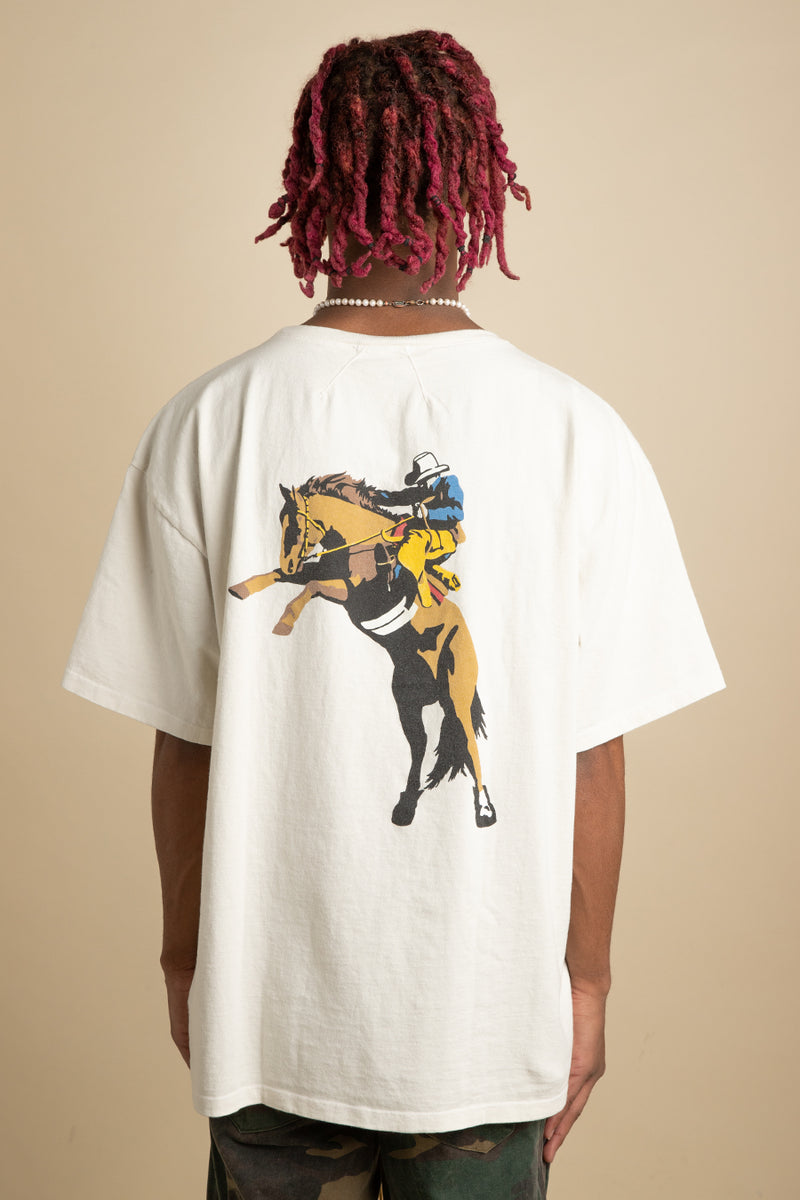 Rhude - White Wild West Pocket T-Shirt