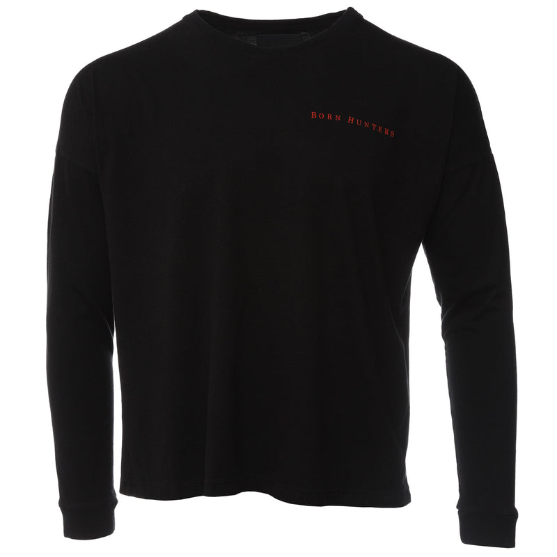 Siberia Hills Black Francis Long Sleeve T-Shirt Front