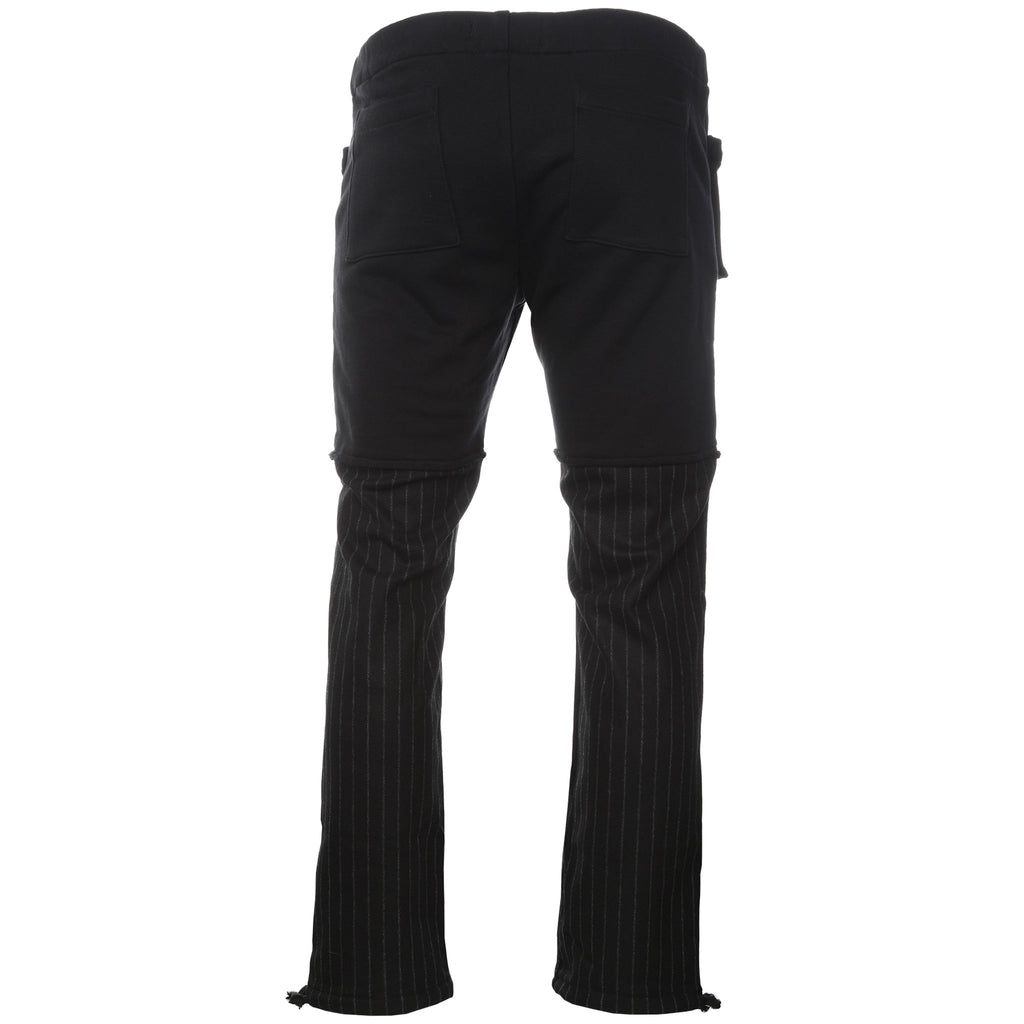 Siberia Hills Black Hybrid Sweatpants Back