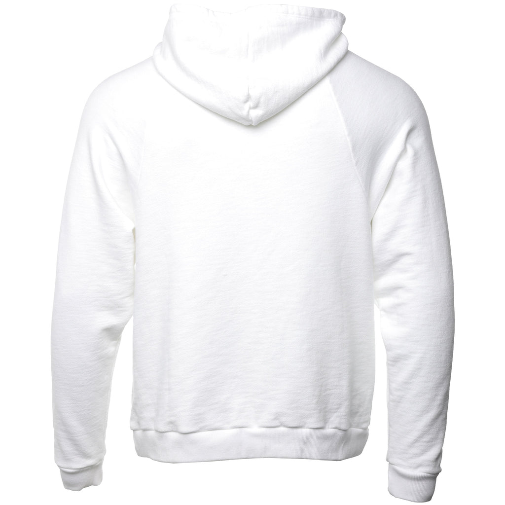 Siberia Hills - White Holographic Batwing Hoodie
