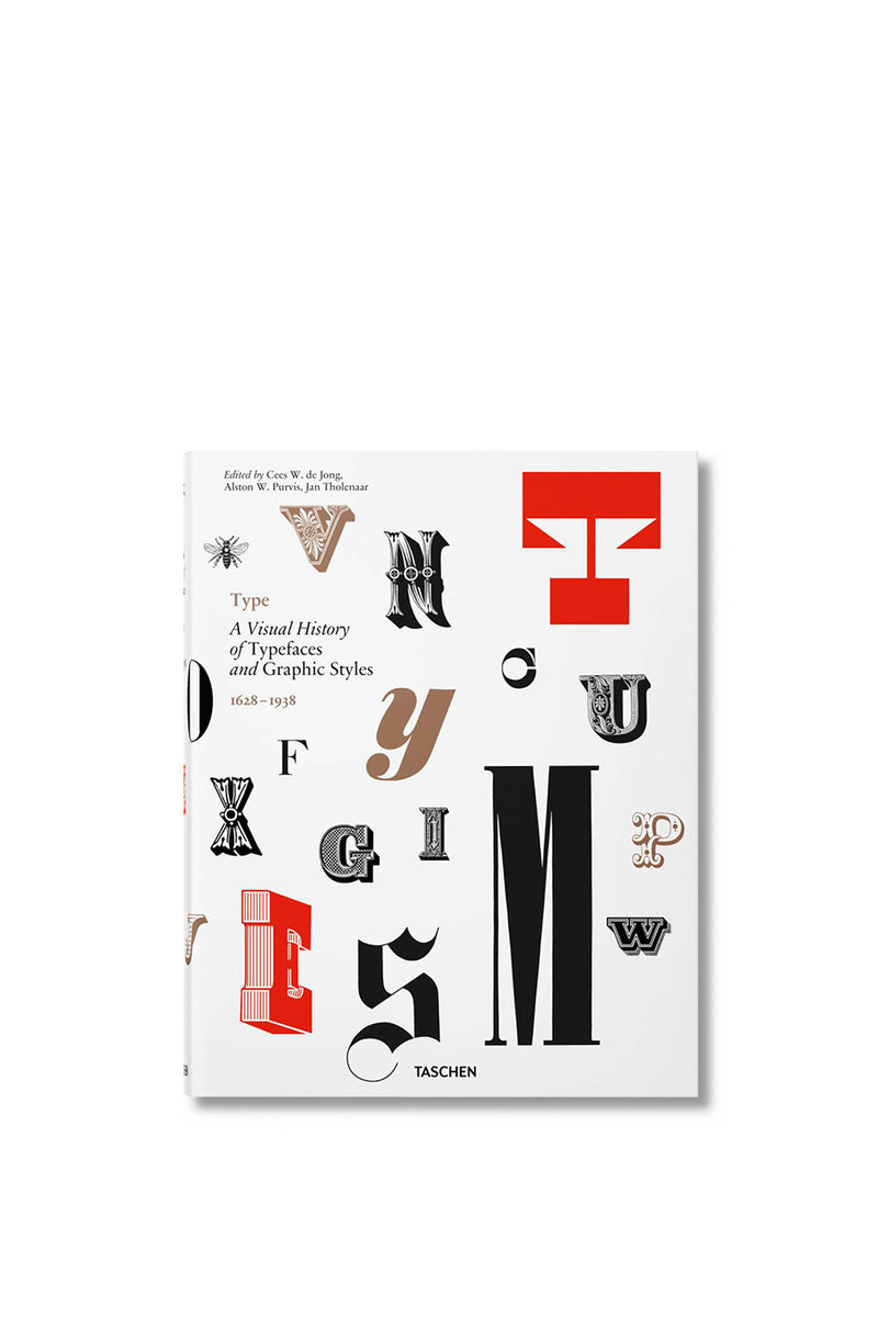 Taschen - Type. A Visual History of Typefaces & Graphic Styles | 1032 Space