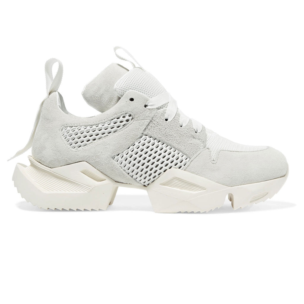 White Unravel Low Sneaker