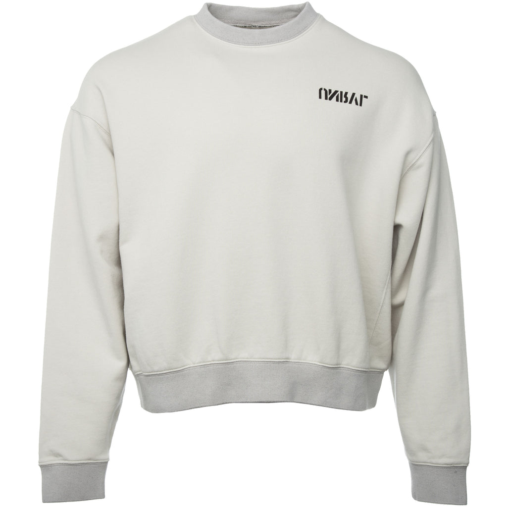 Off White Skull Frech Terry Crewneck