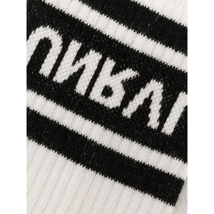 White and Black Sport Socks