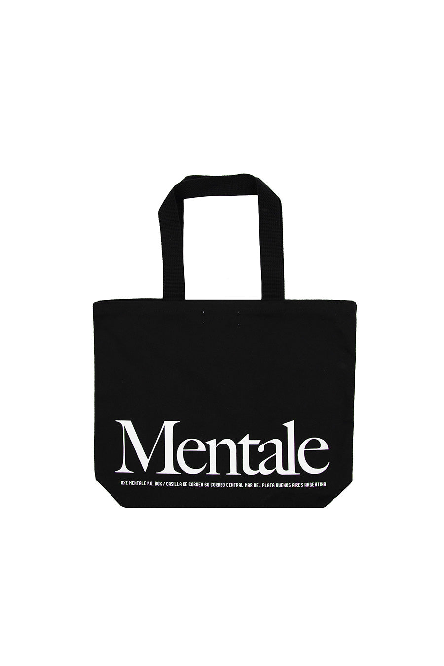 Uxe Mentale - Black Pen Pals Tote Bag | 1032 SPACE