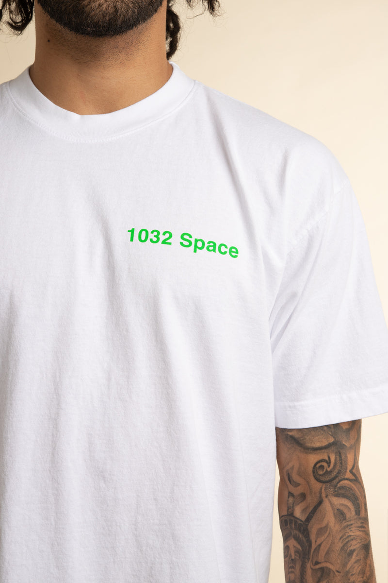 1032 SPACE | White Anniversary T-Shirt