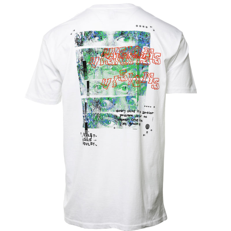 INDVLST - White We Are Artist T-Shirt