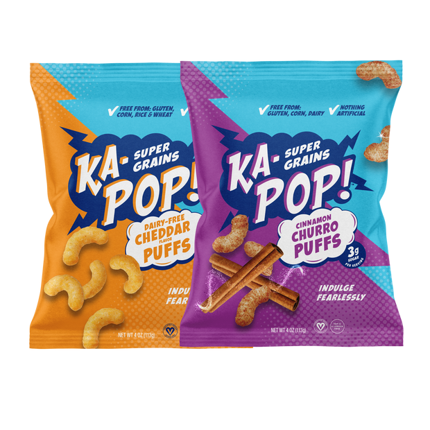 Cheddar & Churro Puffs Variety Packs