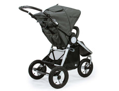 Bumbleride Indie All Terrain Stroller Dawn Grey Rear View