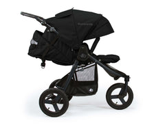 Bumbleride Indie All Terrain Stroller Matt Black Profile View