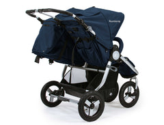 Bumbleride Indie Twin Double Stroller Maritime Blue Rear View