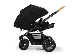 Bumbleride Era Reversible Seat Stroller Matt Black Seat Reversed Infant Mode