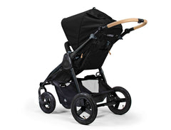 Bumbleride Era Reversible Seat Stroller Matt Black Rear View