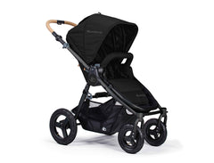 Bumbleride Era Reversible Seat Stroller Matt Black Seat Forwards