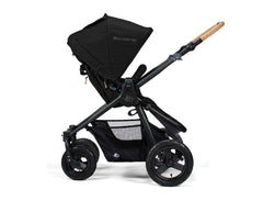 Bumbleride Era Reversible Seat Stroller Matt Black Seat Reversed