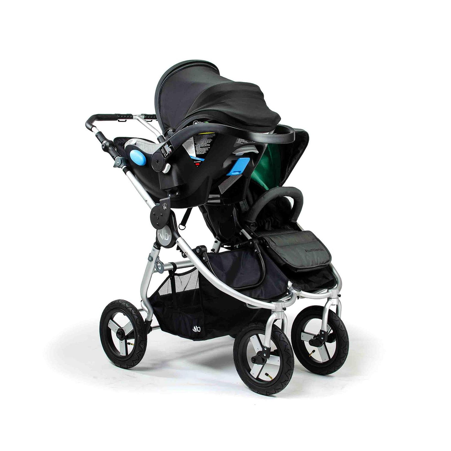 Bumbleride Indie Twin with Single Car Seat Adapter Capsule Australia