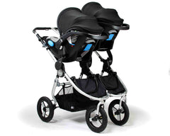Indie Twin with Dual Car Seats Capsules Adaptors Australia