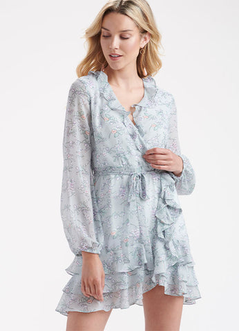 Celina Mini Wrap Dress