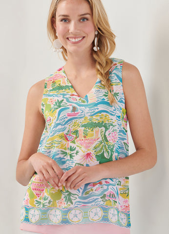 Resort Sleeveless Top